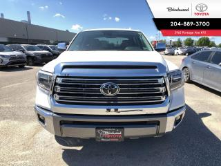 New 2020 Toyota Tundra Platinum 1794 Edition for sale in Winnipeg, MB