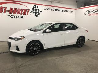 Used 2015 Toyota Corolla S, TOIT, MAGS for sale in St-Hubert, QC