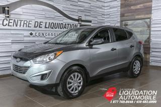 Used 2012 Hyundai Tucson GL+GRP/ELEC+A/C+BLUETOOTH for sale in Laval, QC