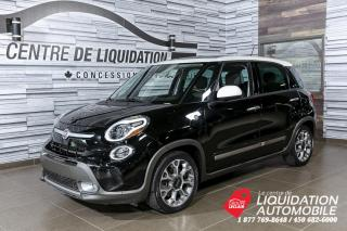Used 2014 Fiat 500 L Trekking+MAGS+A/C+CAM/REC+BLUETOOTH for sale in Laval, QC