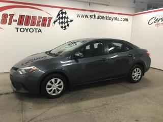 Used 2015 Toyota Corolla 4DR SDN AUTO CE for sale in St-Hubert, QC