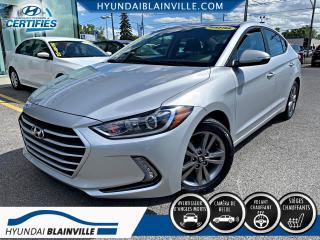 Used 2018 Hyundai Elantra GL APPLE CARPLAY, VOLANT CHAUFFANT, CAM for sale in Blainville, QC