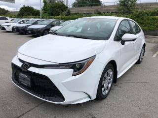 New 2020 Toyota Corolla LE for sale in Surrey, BC