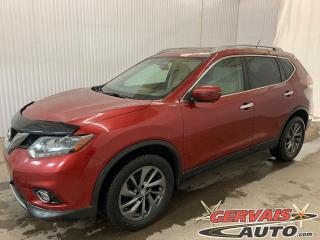 Used 2016 Nissan Rogue SL AWD Mags Cuir GPS Toit panoramique for sale in Trois-Rivières, QC