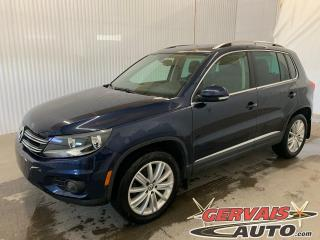 Used 2016 Volkswagen Tiguan Highline AWD Fender Cuir Toit Panoramique Mags 4Motion for sale in Trois-Rivières, QC