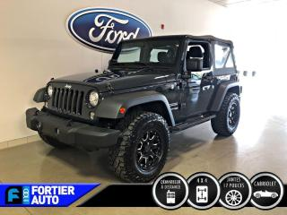 Used 2018 Jeep Wrangler Sport 4X4 for sale in Montréal, QC