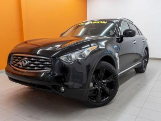 Used 2011 Infiniti FX50 AWD SIÈGES VENT / CHAUFF TOIT OUVRANT NAV *CUIR* for sale in St-Jérôme, QC