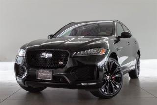 Used 2017 Jaguar F-PACE S AWD -LOCAL BC VEHICLE, CPO WARR UNTIL JUNE 2022 OR 160,000 KMS, TECHNOLOGY PACK, NAVI, DRIVER ASSISTANCE for sale in Langley City, BC