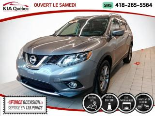 Used 2016 Nissan Rogue SL* AWD* TOIT PANO* GPS* CUIR* for sale in Québec, QC