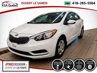 Used 2016 Kia Forte LX* AUTOMATIQUE* A/C* BLUETOOTH* for sale in Québec, QC