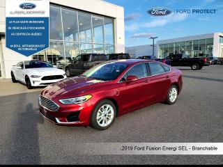 Used 2019 Ford Fusion SEL-BRANCHABLE for sale in Victoriaville, QC