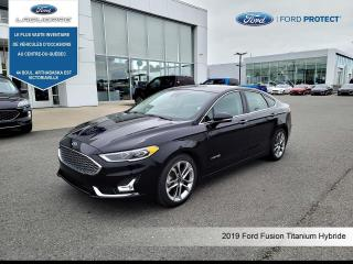 Used 2019 Ford Fusion Hybrid Titanium FWD for sale in Victoriaville, QC