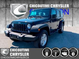 Used 2018 Jeep Wrangler Sport 4X4 for sale in Chicoutimi, QC