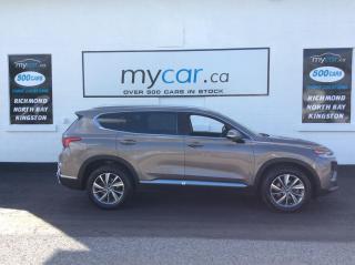 Used 2019 Hyundai Santa Fe Preferred 2.4 HEATED SEATS/WHEEL, BACKUP CAM, MYCAR POWERBUY for sale in Richmond, ON