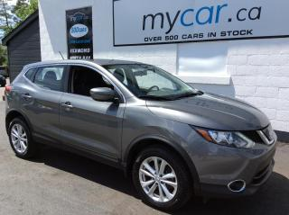 Used 2018 Nissan Qashqai SL SUNROOF, HEATED SEATS, BACKUP CAM, ALLOYS!! for sale in Richmond, ON