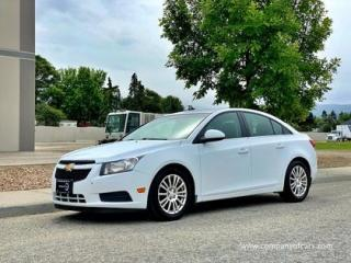 Used 2012 Chevrolet Cruze 4DR SDN ECO W-1SA for sale in Vancouver, BC