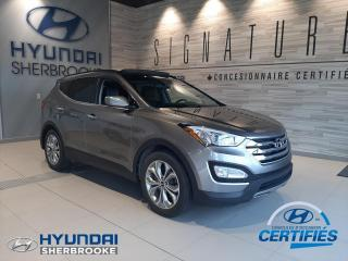 Used 2016 Hyundai Santa Fe LIMITED+AWD+CUIR+GPS+TOIT PANO+CAMERA for sale in Sherbrooke, QC