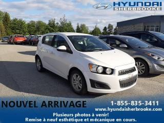 Used 2014 Chevrolet Sonic LT+CAMERA+BANCS CHAUFF+BLUETOOTH for sale in Sherbrooke, QC