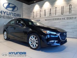 Used 2017 Mazda MAZDA3 GT+2.5+TOIT+CAMERA+BANCS/VOLANT CHAUFF for sale in Sherbrooke, QC