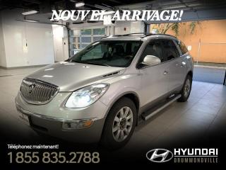 Used 2011 Buick Enclave CXL AWD + GARANTIE + TOIT +  MAGS + CAME for sale in Drummondville, QC