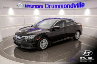 Used 2016 Honda Civic LX + GARANTIE + CAMERA + A/C + CRUISE + for sale in Drummondville, QC