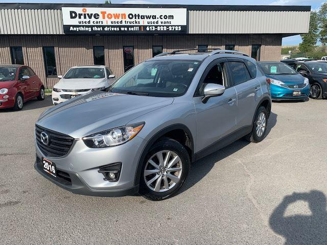 2016 Mazda CX-5 GS AWD **LEATHER**MOONROOF**