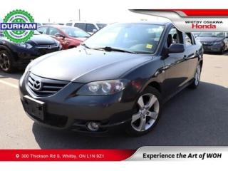 Used 2006 Mazda MAZDA3 4dr Sdn GT Manual for sale in Whitby, ON