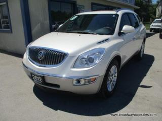 Used 2012 Buick Enclave ALL-WHEEL DRIVE CX EDITION 7 PASSENGER 3.6L - V6.. SLIDING CAPTAINS.. THIRD ROW.. LEATHER.. HEATED SEATS.. DUAL SUNROOF.. BACK-UP CAMERA.. for sale in Bradford, ON