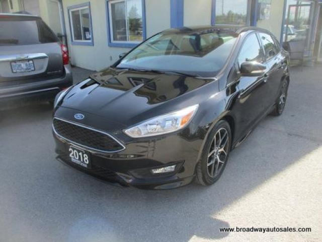 2018 Ford Focus LIKE NEW SE EDITION 5 PASSENGER 2.0L - DOHC.. HEATED SEATS.. HEATED STEERING WHEEL.. BACK-UP CAMERA.. BLUETOOTH.. KEYLESS ENTRY..
