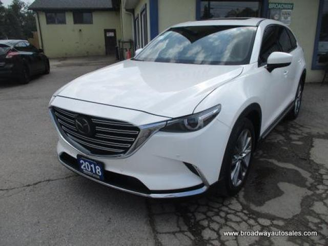 2018 Mazda CX-9 ALL-WHEEL DRIVE GRAND-TOURING EDITION 7 PASSENGER 2.5L - DOHC.. BENCH & 3RD ROW.. NAVIGATION.. LEATHER.. HEATED SEATS.. BACK-UP CAMERA.. SUNROOF..