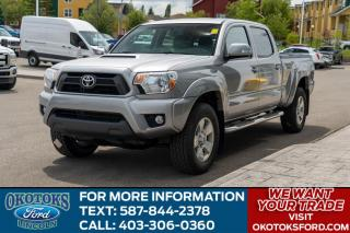 Used 2015 Toyota Tacoma V6 LEATHER/NAV/NEW TIRES/TONNEAU/AUTO/HTS SEATS/BLUE TOOTH for sale in Okotoks, AB