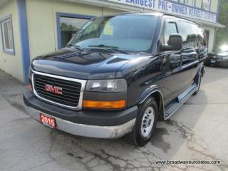Used 2015 GMC Savana 3/4 TON PEOPLE MOVING 12 PASSENGER 4.8L - VORTEC.. BACK-UP CAMERA.. CD/AUX INPUT.. STABILITRAK.. AIR CONDITIONING.. KEYLESS ENTRY.. for sale in Bradford, ON