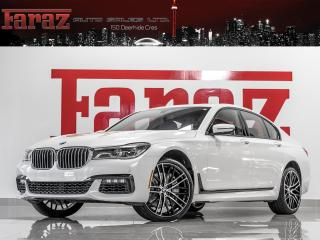 Used 2017 BMW 750i INDIVIDUAL TV/DVD PKG MASSAGE M-SPORT B&W SOUND for sale in North York, ON