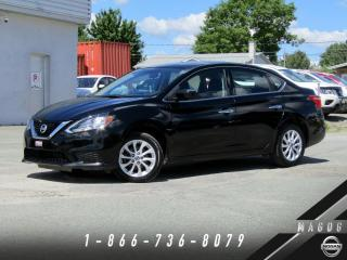 Used 2016 Nissan Sentra SV + CAMÉRA + BLUETOOTH + MAGS + A/C! for sale in Magog, QC