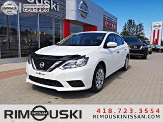 Used 2017 Nissan Sentra 4DR SDN SV for sale in Rimouski, QC