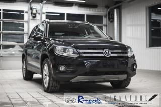 Used 2017 Volkswagen Tiguan 4MOTION 4dr Wolfsburg Edition for sale in Rimouski, QC