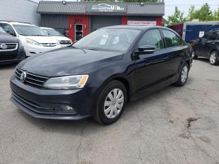 Used 2015 Volkswagen Jetta Comfortline 1,8 TSI 4 portes BA for sale in Lemoyne, QC
