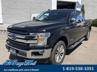 Used 2018 Ford F-150 LARIAT SuperCrew 4RM caisse 6,5 pi for sale in Shawinigan, QC