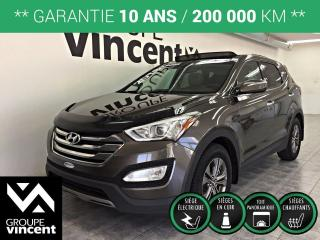Used 2013 Hyundai Santa Fe SPORT LUXURY AWD **GARANTIE 10 ANS ** Du style à l?expérience au volant, en passant par le groupe motopropulseur, un VUS compétant! for sale in Shawinigan, QC