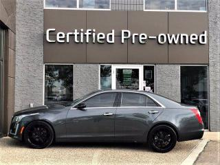 Used 2014 Cadillac CTS Sedan LUXURY w/ AWD / PANORAMIC ROOF / V6 for sale in Calgary, AB