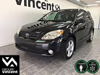 Used 2007 Toyota Matrix AUTOMATIQUE ** CLIMATISEUR ** Berline au look sportif! for sale in Shawinigan, QC