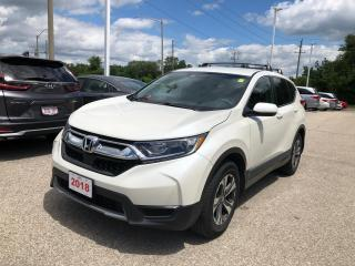 Used 2018 Honda CR-V LX REARVIEW CAMERA WITH GUIDELINES | ECON MODE | APPLE CARPLAY™  & ANDROID AUTO™ CONNECTIVITY for sale in Cambridge, ON