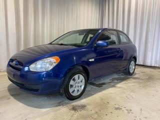 Used 2010 Hyundai Accent Hayon 3 portes, boîte manuelle, L for sale in Sherbrooke, QC
