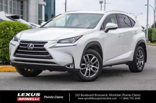 Used 2016 Lexus NX 200t **PREMIUM** *CAMERA DE RECUL*BANCS VENTILÉ ET CHAUFFANTS*BANCS MÉMOIRE*VOLANT CHAUFFANTS*HAYON AUTOMATIQUE* for sale in Montréal, QC