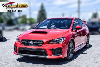 Used 2019 Subaru WRX STI Sport ONE OWNER||ACCIDENT FREE||WITH WING!! for sale in Bolton, ON