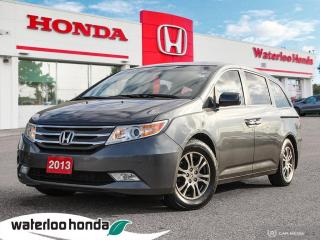 Used 2013 Honda Odyssey Accident Free Odyssey EX-L with a Rear Entertainment System! for sale in Waterloo, ON