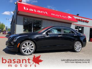 Used 2017 Cadillac ATS 4dr Sdn 2.0L Luxury AWD for sale in Surrey, BC