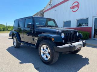 Used 2015 Jeep Wrangler Sahara Unlimited 2 roofs! for sale in Tillsonburg, ON