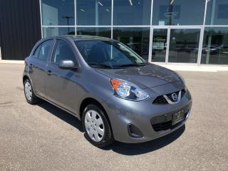 Used 2019 Nissan Micra SV Auto, Great on Gas, Handsfree, B/U Cam for sale in Ingersoll, ON