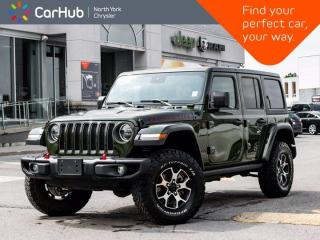 New 2020 Jeep Wrangler Unlimited Rubicon 4x4 Dual Top Heated Seats Nav & Sound for sale in Thornhill, ON